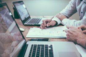 samenwerken laptop