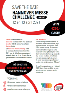 save the date hannover messe challenge