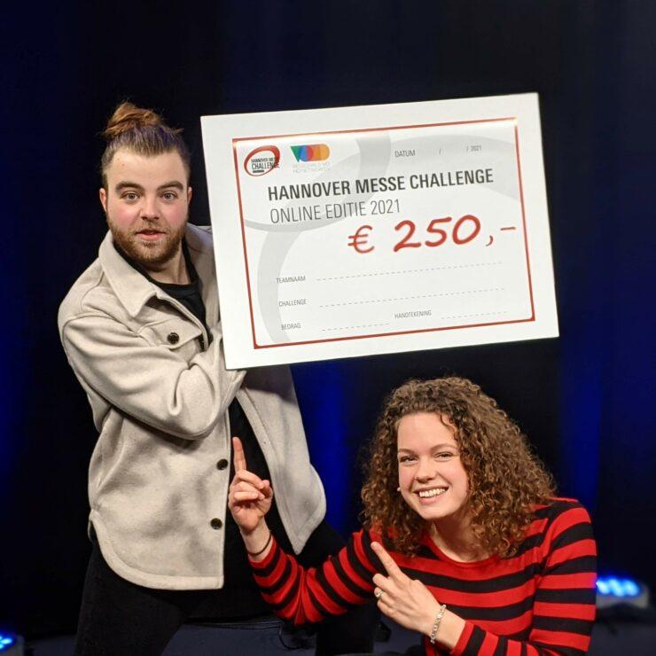 Hannover Messe Challenge uitreiking 2021