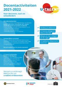 Docentenprogramma poster 2021-2022